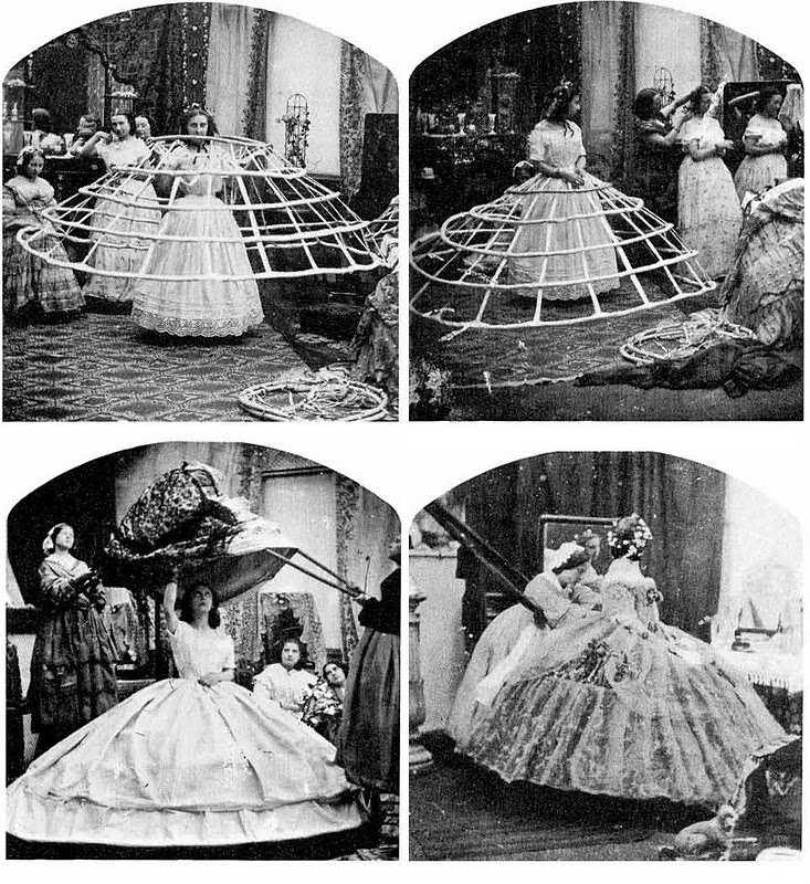 The Hoop Crinoline: Living in a Cage | Victorian Paris