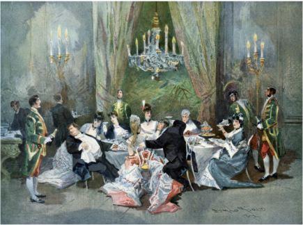 LeRéveillon by Edmund Morin (1824-1882)