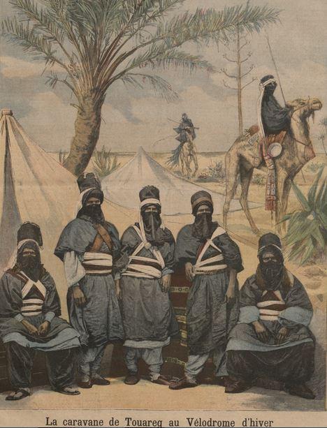 spectacle tuaregs