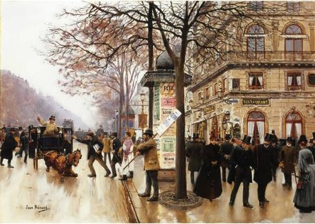 Jean-Georges Béraud: Street Scene