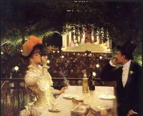 """The Café-Concert at """"The Ambassadeurs"""""""