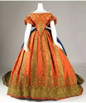 1858 Italian gown