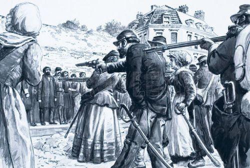 Executing communards
